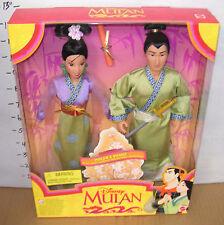 ✨New! Vintage 1997 DISNEY MULAN AND SHANG WEDDING International Edition RARE! 4+