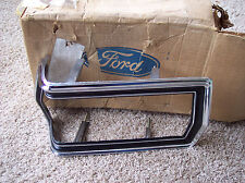 1974 74 1975 75 1976 76 Ford Torino NOS RH rear tail lamp light chrome trim
