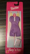 Barbie sleep 'n fun fashions purple sleep sleep #68021 from 1997. New in package