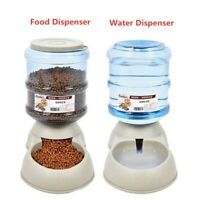 Pet Automatic Water Food Dispenser Feeder Dog Cat Dish Bowl 3.5L Pet Supplies