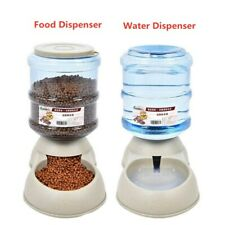 Pet Automatic Food Dispenser Feeder Dog Cat Dish Bowl 3.5L Pet Supplies