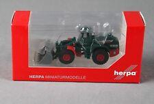 """HERPA 304139 (H0, 1:87) - Liebherr Radlader L 580 """"Franz Fischer Nienburg"""" NEU!"""