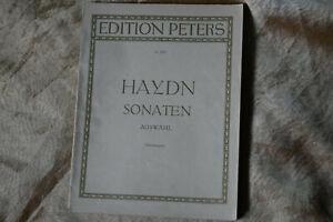 J. HAYDN *   SONATEN  *AUSWAHL * C.A. MARTIENSSEN *