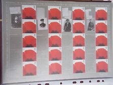 2007 Letters From the Front Royal Mail Smiler Sheet Ls43 Cat £24 - At Under Face