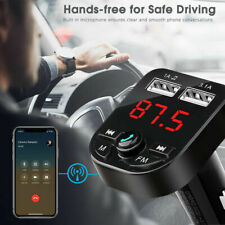 USB Port 3.1A Fast Charging Wireless Audio Receiver Car TF Card MP3 Music Player