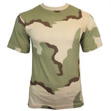 Magliette da uomo mimetico con girocollo taglia XL