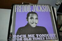 "FREDDIE JACKSON     ROCK ME TONIGHT    12"" SINGLE   CAPITOL RECORDS   12 CL 358"
