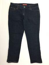 Guess Womens Jeans Authentic Size 31 Blue Denim Capri Summer Spring Spandex