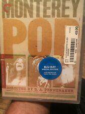 The MONTEREY POP Festival The Criterion Collection Blu-Ray Joplin Hendrix NEW