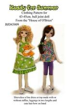 Bjd430069 Ready for Summer pattern to fit 43-45 cm .Msd,Bjd