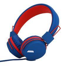 RockPapa On Ear Kids Childrens Boys Girls Foldable Headphones Headsets