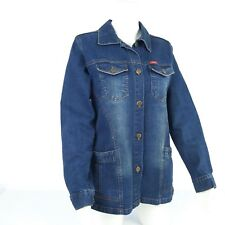 Designer Denim Jacket Rayman Faded Women's Denim Jacket Size S/M