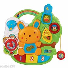 Vtech Lil Critters Crib to Floor Activity center educational toy lights sounds