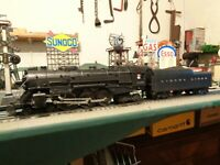 "Lionel Postwar 2056 Hudson 4-6-4 ,""1952"" & 2046W tender serviced & ready  ! ! !"