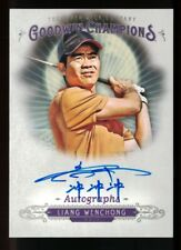 New listing 2018 Upper Deck UD Goodwin Champions Autograph #AWE Liang Wenchong Auto Golf
