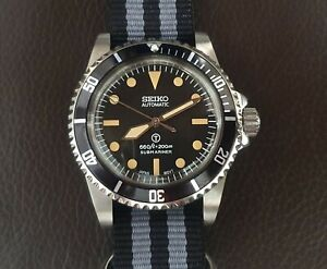 Vintage Submariner 5517 Homage Divers Watch with Seiko NH35 Automatic