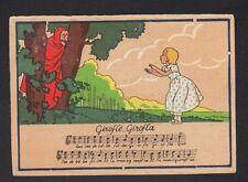CHANSON ENFANTINE illustrée / GIROFLE GIROFLA / DIABLE par BARDAY (BARRE-DAYEZ)