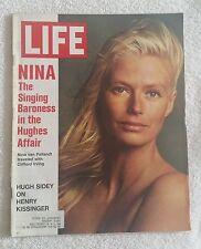 LIFE Magazine February 11, 1972; Nina, Singing Baroness Hughes Affair-RARE FIND