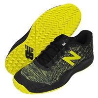 New Balance 996 Men's Tennis Shoes Black Yellow (2E) Racquet Racket NWT MCH996S3