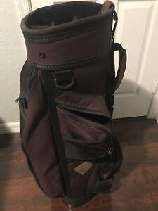 Burton Golf Cart Bag 6-way Dividers no Rain Cover