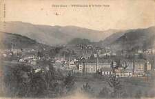 Alsace France Wesserling Scenic View Antique Postcard J48079