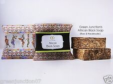 Green Junction's Raw African Black Soap - Set of Two Soap