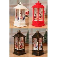 Christmas Candlestick Pendant Simulate Lamp Light Festival Table Lighting Decor