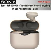 Sony WF-1000XM3 Truly Wireless Noise Cancelling Headphones - Silver