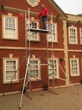 DIY Aluminium Scaffold/scaffolding tower/towers/platform 6m reach height