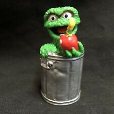 Oscar The Grouch Sesame Street PVC Applause Vintage Muppets