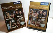 TCM Greatest Classic Legends Film Collection: Sidney Poitier (DVD, 2013, 4-Disc