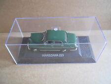 WARSZAWA 223 Legendary Cars 1:43 Die Cast in Box in Plexiglass [MV10]