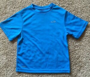 Boy's Blue Champion Duo Dry Short Sleeve Top XS 4/5