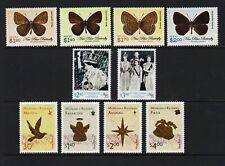 Niue - #886-895, MNH, cat. $ 32.25 - Christmas, Butterflies, Coronation Anniv.