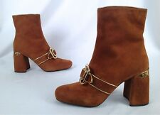 NEW!! PRADA -Buckle-Detailed Ankle Boots-Size- US 9/EU 39- $1100- (P9)
