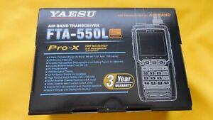 Yaesu FTA-550L Pro-X NAV/COM Aviation Radio