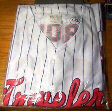 RARE Mike Trout Arkansas Travelers Jersey Minor League Stadium Giveaway #23