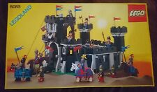 Vintage Lego Black Monarch's castle Brand New Boxed (6085)