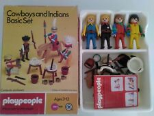 Playmobil Playpeople western cow-boys et indiens Basic Set *** Coffret RARE
