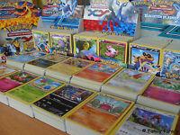 Enorme lot de cartes POKEMON série au choix sans doubles neuves françaises