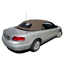 Sandalwood 1996-06 Chrysler Sebring Convertible Top With Defroster Glass window