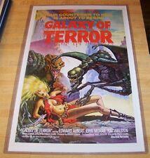 Galaxy of Terror 11X17 Movie Poster