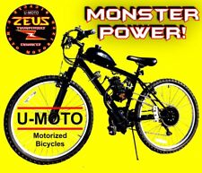 "DIY 2-STROKE 66CC/80CC MOTORIZED BIKE KIT WITH 26"" MT BIKE!"