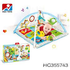 Krabbeldecke Erlebnisdecke Baby Decke Spielmatte + Spielbogen Gym