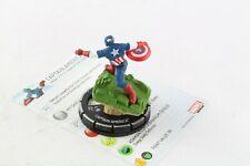 Heroclix Marvel 10th aniversario Capitán América 023 Super Raro Chase V4