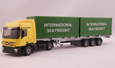 Siku 3921 Mercedes Benz Actros Truck with Container Trailer Scale 1:50