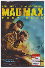 MAD MAX FURY ROAD (DVD, 2015) NEW