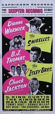 SCEPTER RECORDS 1992 SHIRELLES ISLEY BROTHERS POSTER