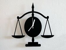 Libra Silhouette - Wall Clock