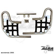 TRX 400EX TRX400EX Honda   Nerf Bars  Alba Racing      Silvr/Blk 211 T1 SB